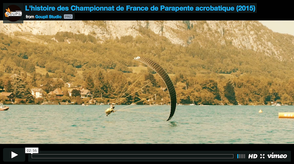 2015 french championships aerobatic paragliding