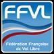 fédération fnraçaise vol libre ffvl logo