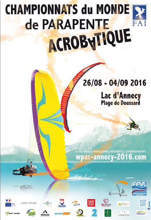 2nd FAI World Paragliding Aerobatics Championships