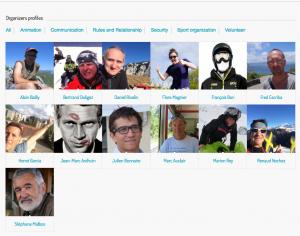Organizers profile