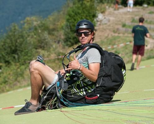 Annecy, le 28 août 2016, Championnat du Monde de parapente acrobatique. Photographe: Philippe Périé www.philippeperie.com