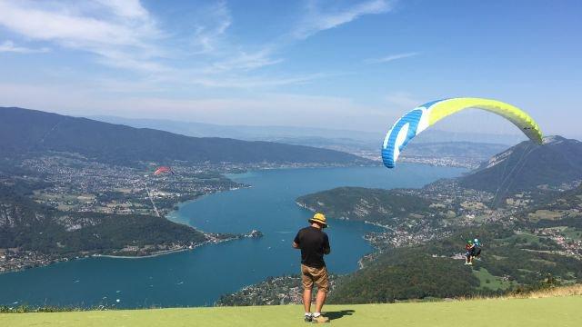 Championnats du monde FAI parapente acrobatique France 3