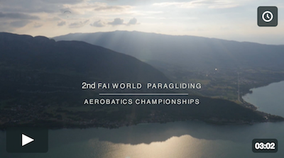 1st report 2nd FAI World Paragliding Aerobatics Championships Lake Annecy 2016